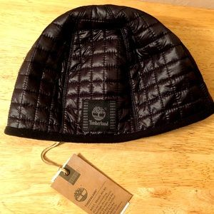 NWT TIMBERLAND NYLON QUILTED BEANIE